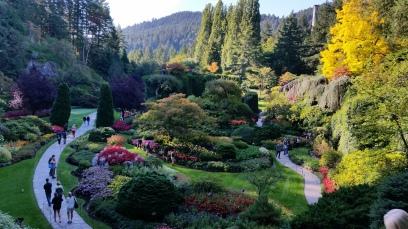Buchart Gardens, Victoria